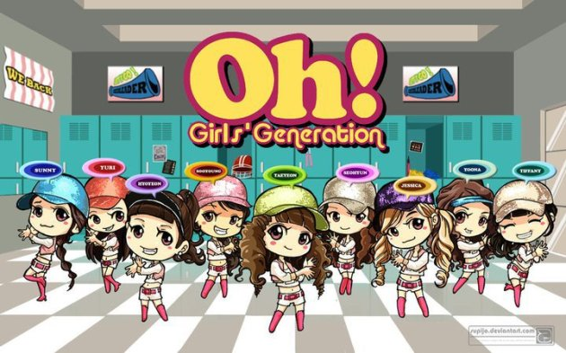 Girls' Generation - oh