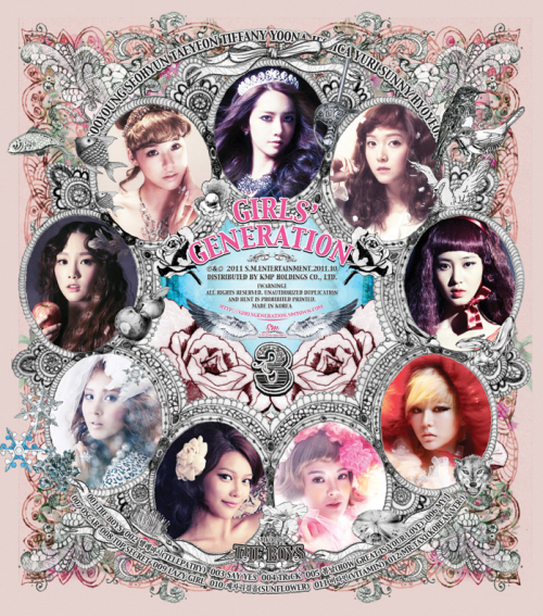 SNSD - The Boys (3rd album)