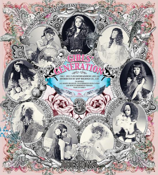 SNSD - The Boys (3rd album)