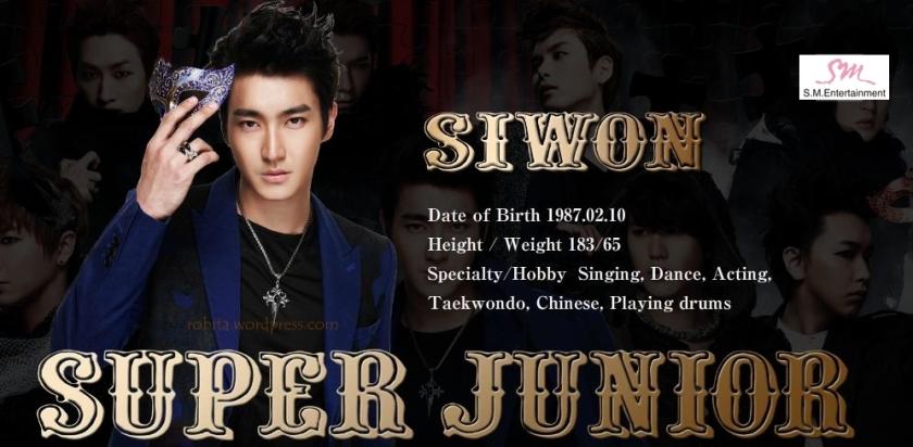 Super Junior - Siwon