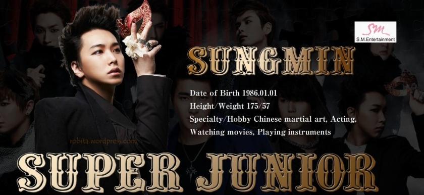Super Junior - Sungmin