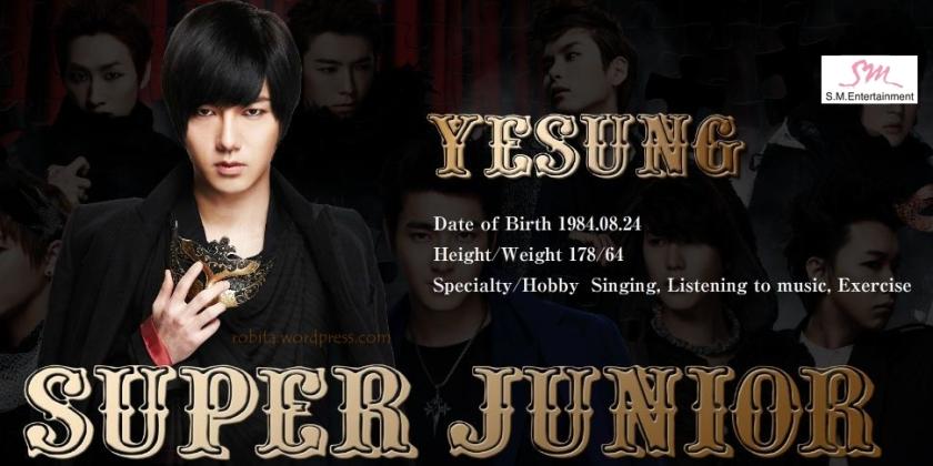 Super Junior - Yesung