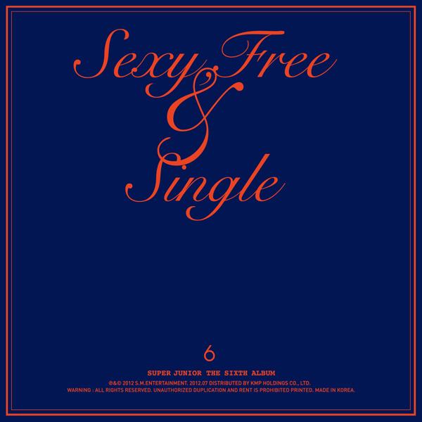 Sexy, Free, & Single [album cover]