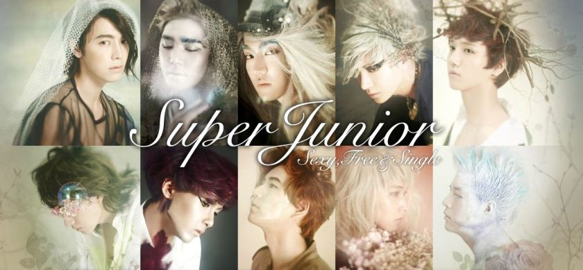 Super Junior - Sexy, Free, and Single