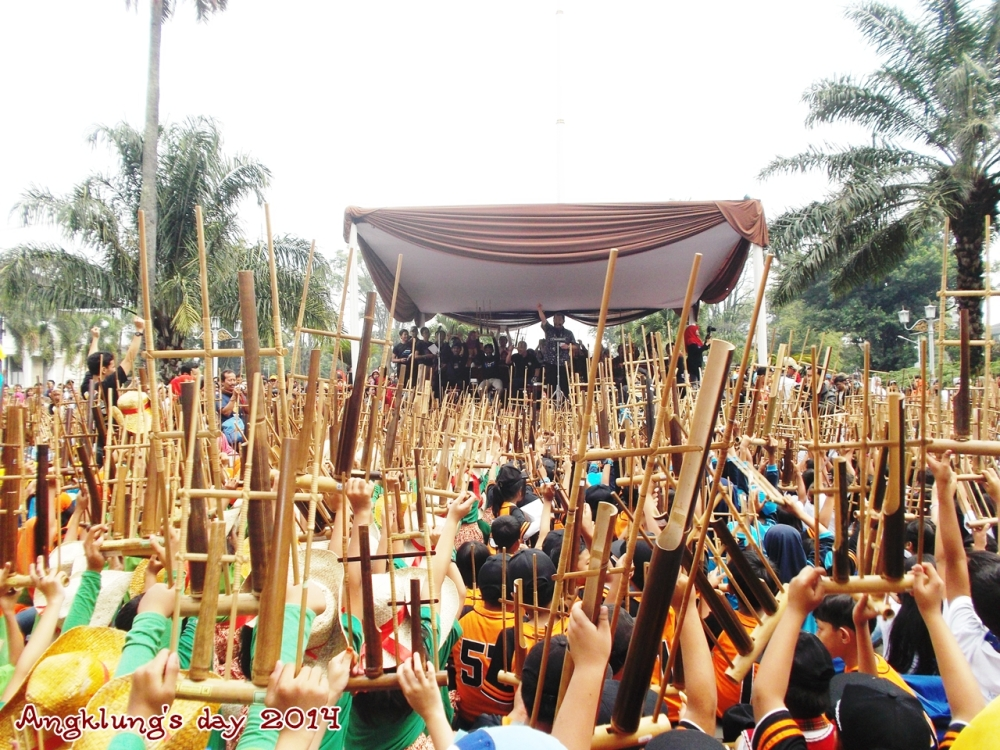 angklung's day