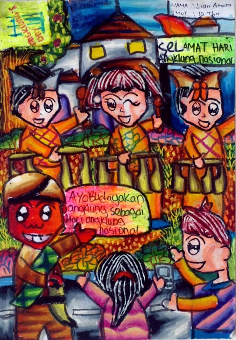 Lian Amara ( 10 tahun)